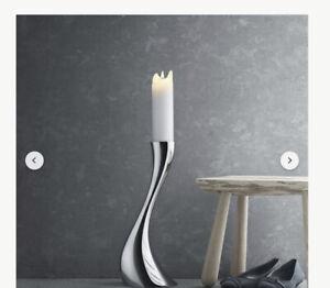 Georg Jensen Cobra floor candle holders