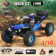 RC Car WLtoys 10428-C2 1/10 2.4G 4WD Electric Rock CrawleBuggy Desert baja 50kmh