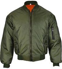 Unbranded Nylon Regular Size Zip Coats & Jackets for Men