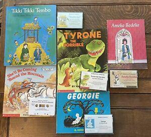 Books CHILDRENS BOOKS On Tape Audio Cassette Read Out Loud LISTENING CENTER 2
