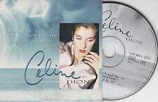 CD CARDSLEEVE CELINE DION BECAUSE YOU LOVED ME 2T 1996 BO FILM