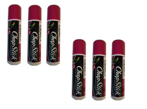 ChapStick Lip Balm Cherry Flavour- Pack of 6