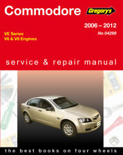 Commodore VE 2006-2012 Gregorys Workshop Manual LF1 LFW LEO LY7 LLT LS2 LS3 L98