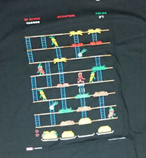 Deadpool Burgertime mash-up t-shirt size mens Medium marvel comics Taco time