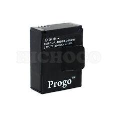 Progo Battery 1200mAh For GoPro HD Hero3 Hero 3 Camera AHDBT-201 AHDBT-301