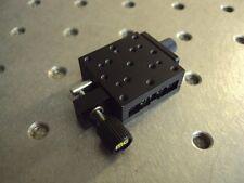 New listing Melles Griot Linear Lense Optics Alignment Translation Stage Positioner 10mm.