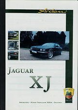 Preisliste Arden Jaguar XJ Frühjahr 2006 Autopreisliste Preise Tuning Zubehör