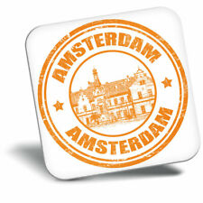 Awesome Fridge Magnet - Amsterdam The Netherlands Travel Cool Gift #4706