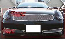 Fits 2006-2007 Infiniti G35 Coupe Sport Mesh Grille Combo