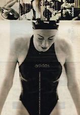 PUBLICITE ADVERTISING 074  1995  ADIDAS maillot de bain  ( 2 pages)