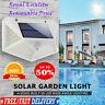 100 LED Solar Power PIR Motion Sensor Wall Lights Outdoor Garden Lamps Security