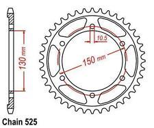 TMP Pignon Sortie de Boite Arrière 46 Dents (chaine525) YAMAHA FZ8 800 N 2010-15