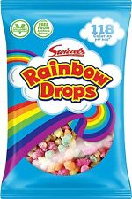 Mega Rainbow Drops 32g, Retro Sweets, Party Bag Fillers, Select your Qty