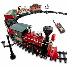 NIB 2016 Disney Parks Store Christmas Train 30 Pc  Remote Control Mickey Minnie