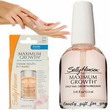 NEW Sally Hansen Maximum Growth Daily Nail Program Powerful Protection 13.3ml