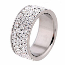 Cubic Zirconia White Gold Plated Special Occasion Fashion Rings