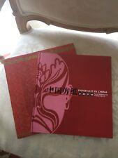 "Chinese Book ""Paper Cut In China"" Facial Makeup Of Peking Opera"