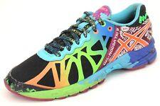 Asics Women's Gel-Noosa Tri 9 Athletic Running Sneakers Size 6 Black Blue Green