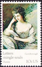 US - 1974 - 10 Cents Portrait Painting Gainsborough UPU Anniversary Issue #1536