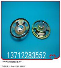 57mm internal magnetic transparent waterproof 8oh1W bike speaker thickness 12.5m