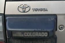 toyota landcruiser colorado handle tailgate boot trim rear + surround 96 - 2003