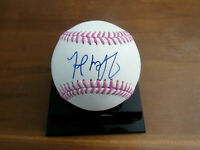 FRED MCGRIFF 95 WSC BRAVES RAYS SIGNED AUTO CANCER AWARENESS OML BASEBALL JSA