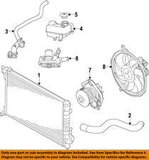 FIAT OEM 12-15 500 Radiator-Outlet Lower Hose 68073099AD