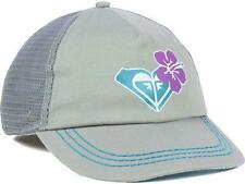 Too Cute! New Roxy Surfing Co Womens Adjustable Hat Gray/Turqoise  MSP $25__B93