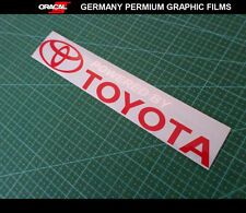 Powered by TOYOTA Supra Celica TRD Land Cruiser klugar Pardo 86 car vinyl decal
