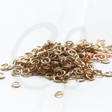 500 Pieces Raw Brass Brass Base Jump Rings- 3x0.5mm (3170C-I-501)