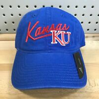 University of Kansas Jayhawks KU NCAA Adidas College Women's Hat NWT Blue Cap