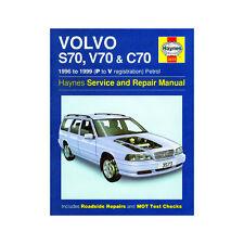 [3573] Volvo S70 V70 C70 2.0 2.3 2.5 Petrol 1996-99 (P to V Reg) Haynes Manual
