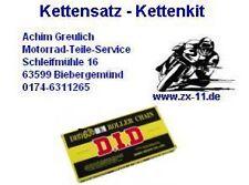 DID 530 VX sello forma X Kit de cadena ZXR 750 J,ZXR750,16-45-110,Kettenkit,oro