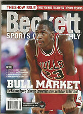 Beckett Sports Card Monthly Michael Jordan Chicago Bulls on Cover August 2013