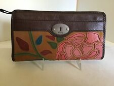 Women's leather wallet by Fossil