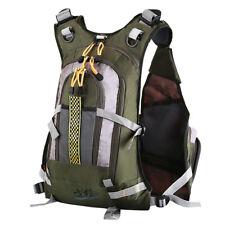 Fliegenfischen Rucksack verstellbare Größe Mesh Fishing Vest Pack