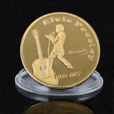 WR Elvis Presley - The King of Rock n Roll Gold Coin -Singer Legend Medallion US