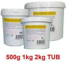 More details for self indicating silica gel desiccant 2-5mm beads - 500g 1kg 2kg - flower drying