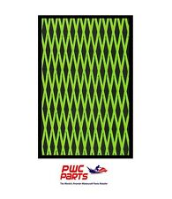 "HYDRO TURF Traction Mat Roll - Cut Diamond - Black/Green 37"" x 58"" - w/ Adhesive"