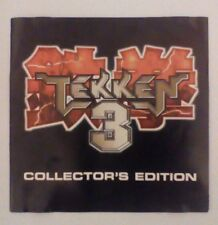 ***RARE*** Tekken 3 Collectors Edition Flyer Booklet PS1 PSOne PlayStation One