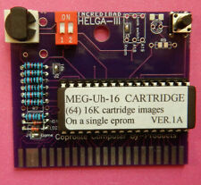 MEG-Uh-16 Cart Ver.1A ---- Commodore 64 128 w/27C801 Eprom For 64 16k programs