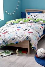 NEXT Toddler Bedding Football Print Bed Set Cot/Cotbed