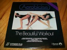 AEROBICISE: THE BEAUTIFUL WORKOUT Laserdisc LD VERY GOOD CONDITION ULTRA RARE!