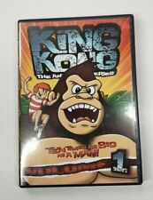 King Kong: The Animated Series - Vol. 1 (Dvd, 2006) Classic Media - 8 Episodes