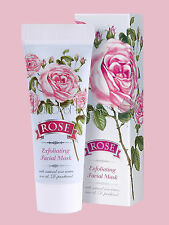 ROSE EXFOLIATING FACE MASK WITH NATURAL BULGARIAN ROSE OIL