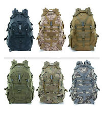 30L Hiking Camping Bag Military Tactical Rucksack Backpack Outdoor Travel 900D