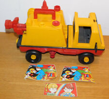 camion garage SMOBY MOB vintage MADE IN FRANCE truck JOUET
