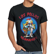 Los pollos señores t-shirt Breaking hermanos Heisenberg Walter Bad White Chicken