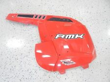 POLARIS SNOWMOBILE RMK 800 LEFT HAND INDY RED SIDE PANEL 5437492-293