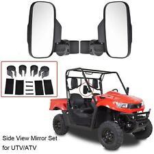"1 Pair Utv Atv Rearview Side Mirror 1.5""- 2 Roll Bar Cage For Polaris Rzr Xp1000"